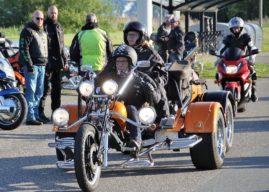 Fotoverslag Elfstedentocht voor motoren