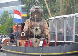 Foto's Reuzen in Leeuwarden –  dag 3 'De reuzen uitgezwaaid'